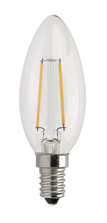 4w Small Edison Screw Filament LED Candle