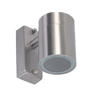 Stainless Steel Pillar Light -Single