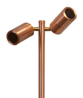 Copper Double Spike Light