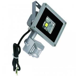 10 Watt LED flood with PIR Sensor