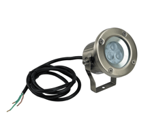 3w LED Stainless Steel Spot light (240v)