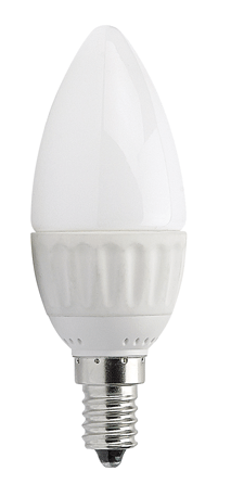 4w Small Edison Screw LED Candle