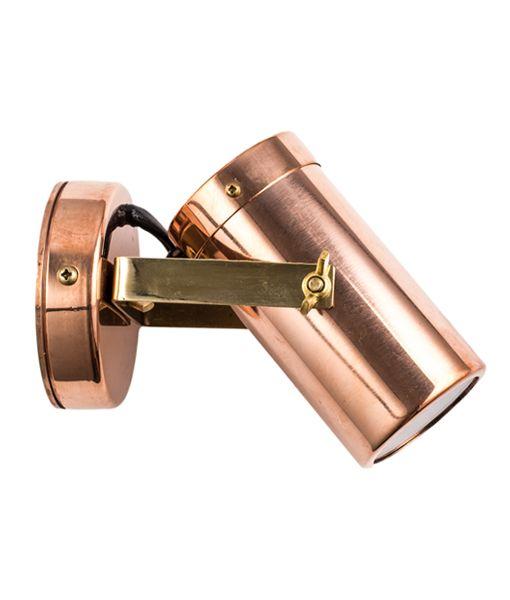 240v Directional Spotlight -Copper