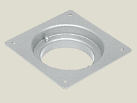 Stainless Steel Mounting Flange